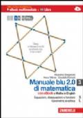 Manuale blu 2.0 di matematica 3