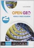 OPEN GEO VOL 2 POPOLI E PAESI D'EUROPA + EBOOK