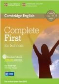 Complete first certificate for schools. Student's book without answer con CD-ROM