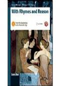 With rhymes and reason. Per le Scuole superiori. Con espansione online vol.1