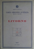 Carta geologica d'Italia - Foglio 111 Livorno
