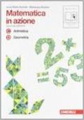 Matematica in azione. Tomi C-D:Aritmetica-Geometria. Per la Scuola media. Con espansione online vol.2