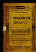 DIZIONARIETTO GEOGRAFICO
