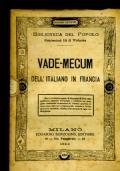 VADE-MECUM DELL'ITALIANO IN FRANCIA