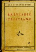 BREVIARIO CRISTIANO