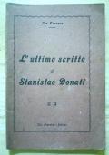 L'ultimo scritto di Stanislao Donati