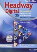 HEADWAY DIGITAL. B1+  Intermediate. Student's book-Workbook.