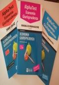 Alpha Test Economia e Giurisprudenza: Manuale di preparazione + Esercizi Commentati + 3900 QUIZ