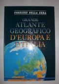 Grande atlante geografico d'Europa e d'Italia