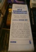 manuale di reti di telecomunicazioni e trasmissioni dati