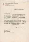 LETTERA DATTILOSCRITTA DEL PROF. REMO CANTONI AL PROF. BULFERETTI 1958 NUOVA ENCICLOPEDIA MONDADORI