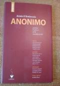 ANONIMO Poesia musica arte società civile CON CD
