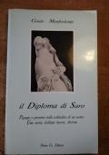 IL DIPLOMA DI SARO Passato e presente nella solitudine di un uomo. Una storia siciliana nuova, diversa (SICILIA)