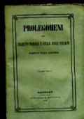 PROLEGOMENI DEL PRIMATO MORALE E CIVILE DEGL�ITALIANI