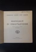Manuale di equitazione - Roma, 1969