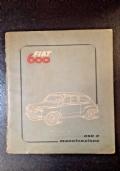 Fiat 600. Uso e manutenzione - 1955