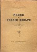 Prose e poesie scelte: raccolta postuma a cura degli amici (Scuola di Bibliografia Italiana - Reggio Emilia)