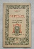 Che Peccato! Card. Pietro Maffi Arcivescovo di Pisa - Lettera Pastorale per la Quaresima 1926