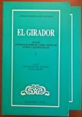 El GIRADOR Vol. 1-2 studi di letteratura Iberiche e Ibero-Americane offerti a Giuseppe Bellini Ed.Bulzoni - Roma