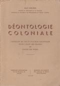 Déontologie coloniale