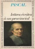 Lettres écrites à un provincial