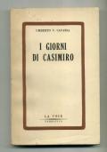 UMBERTO V. CAVASSA - I GIORNI DI CASIMIRO