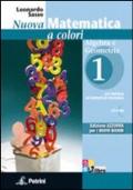 Nuova Matematica a Colori - Edizione AZZURRA. Algebra e Geometria 1 + CD-Rom + Prove invalsi + Quaderno di Recupero + eBook scaricabile.