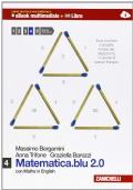 MATEMATICA.BLU 2.0 con Maths in English Vol 4
