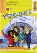 Stimmt! 1 Deutsche Sprache und Kultur für junge Leute. Kursbuch + Arbeitsbuch + Libro attivo.