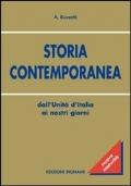 STORIA CONTEMPORANEA Dall'Unità d'Italia ai nostri giorni