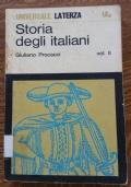 Storia degli italiani (volume secondo) - Giuliano Procacci
