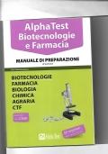 Alpha Test Biotecnologie e Farmacia Manuale di preparazione