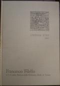 francesco filelfo e il codice sforza della biblioteca reale di torino