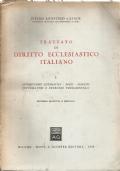 Trattato di diritto ecclesiastico italiano - Vol. I