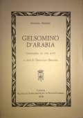Gelsomino d'Arabia. Commedia in tre atti