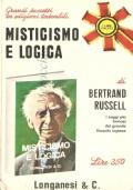 Misticismo e logica e altri saggi