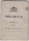 ANNUARIO DELLE SOCIETA' DI GOLF 1932
