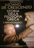 STORIA DELLA FILOSOFIA GRECA I Presocratici