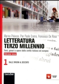 LETTERATURA TERZO MILLENNIO 1 ED. ROSSA- TEMI, GENERI E OPERE DELLA CIVILTA' ITALIANA ED EUROPEA