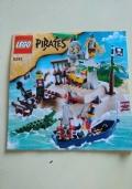 LEGO PIRATES 6243 - 1 & 2 - MANUALE ISTRUZIONI DI MONTAGGIO ORIGINALI - veliero dei pirati - Codici 4550861 e 4550863