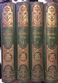 Goethes Werke in vier Bänden