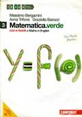 MATEMATICA VERDE 3 con maths in english