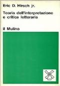 Teoria dell'interpretazione e critica letteraria