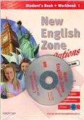 NEW ENGLISH ZONE VOL.1 - STUDENT'S BOOK + WORKBOOK 1 + CD