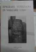 Epigrafe veneziana in volgare (1310) (libretto di mal'aria 278)
