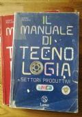 Il manuale di tecnologia. Settori produttivi-Disegno e laboratorio. Volume unico. Con espansione online. Con CD. Per la Scuola media