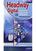 New headway digital. Intermediate. Student's book-Workbook. Per le Scuole superiori