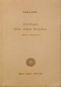 Antologia della critica filosofica : Medioevo e Rinascimento