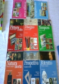 8 manuali per corso completo Disegno