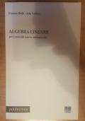 ALGEBRA LINEARE per i corsi del nuovo ordinamento